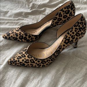 Sam Edelman Leopard Print pump (calf hair)